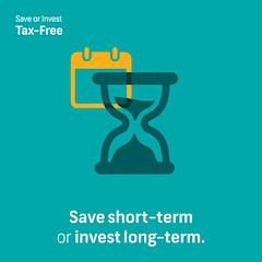 Save Short Term or Invest Long Term, Tax-Free
