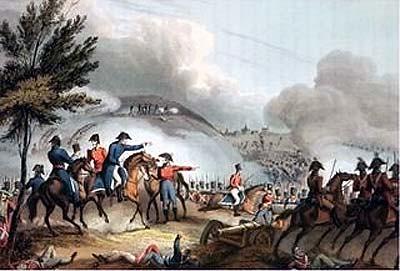 Battle of Salamanca, etched by J. Clarke