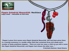 Bliensen - Pippin Galadriel Moonchild - Necklace