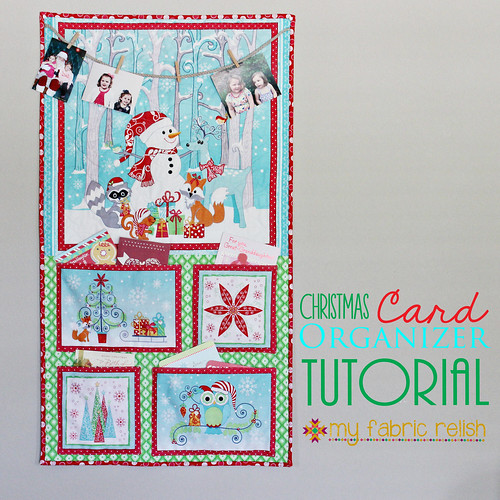 Christmas Card Organizer for Benartex