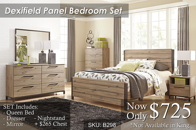 Dexifield Panel Bedroom Set