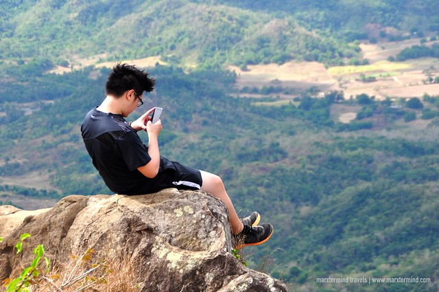 Hiker at Mount Palay-Palay