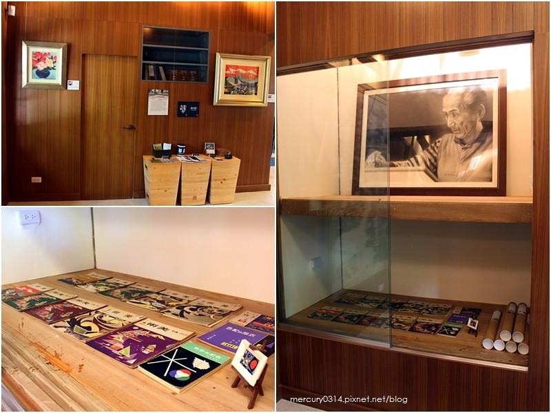 19770770501 4085320da6 b - 遊記。台中西區【林之助紀念館】台灣膠彩畫之父林之助畫室,歷史日式建築修復再利用