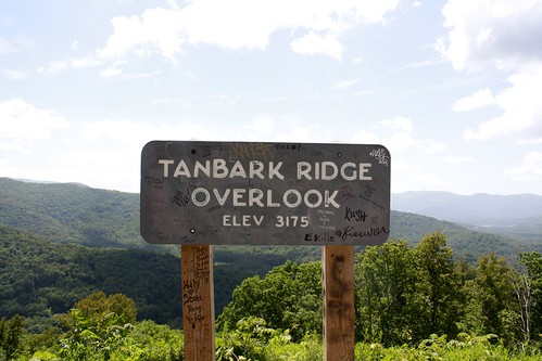 my first time on the blue ridge parkway