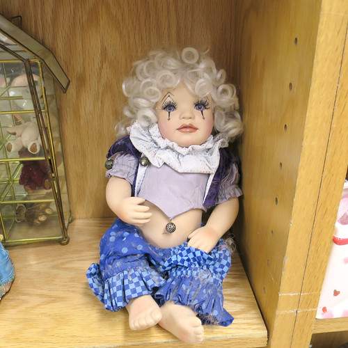 crying bellydance doll