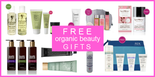 Free Organic Beauty Gifts
