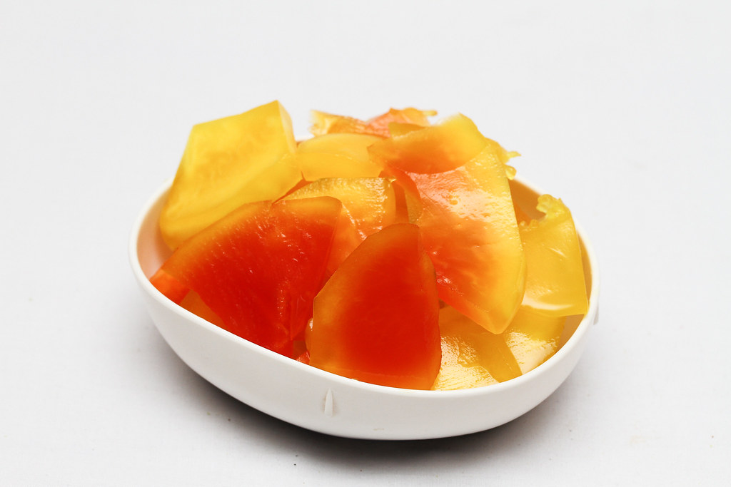 50 Childhood Snacks Singaporeans Love: Preserved papaya