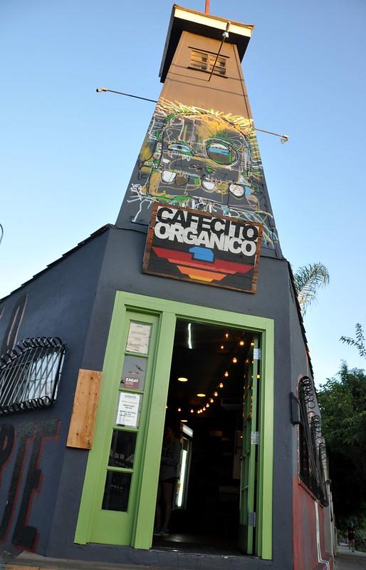 Cafesito Organico, Hoover St., LA