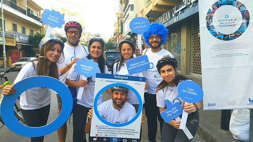 Rally paper on Diabetes Lebanon