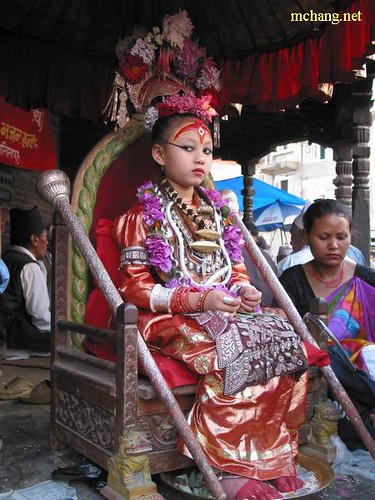 Angle Finder App >> Kumari - Living Goddess of Nepal | patan, nepal. it's very … | Flickr - Photo Sharing!