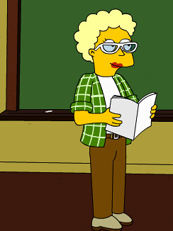 Free Range Librarian, Simpsons Version