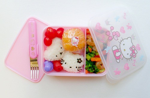 Hello Kitty bento 021706