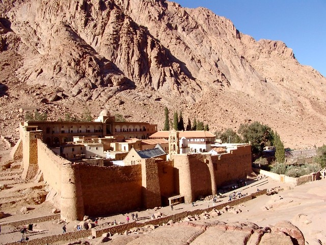 Monasterio de la Transfiguración (o de Santa Catalina), Egipto.