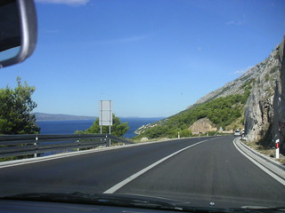 A road along the Adriatic