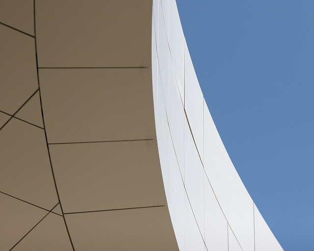Getty metal curve