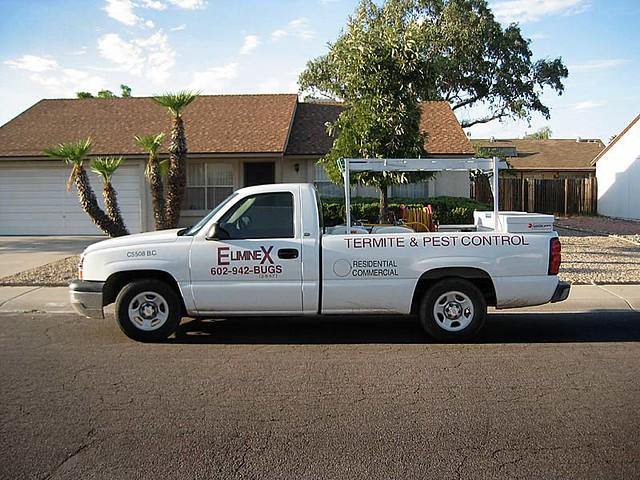 eliminex termite & pest control truck | peoria, arizona ...