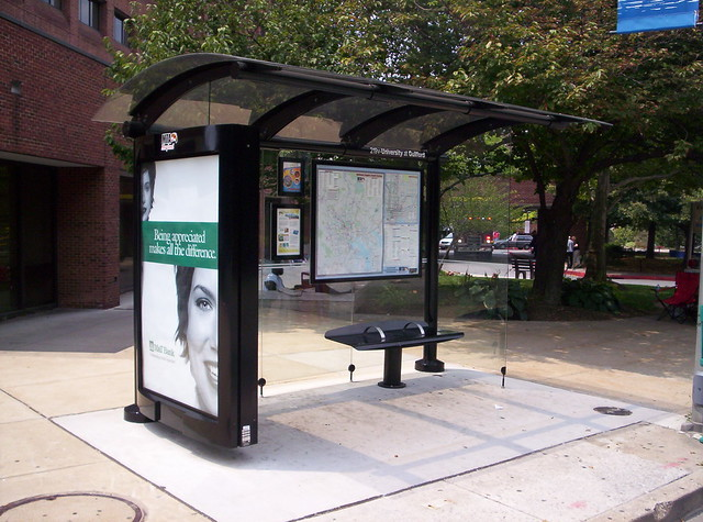 Bus Shelter, Baltimore
