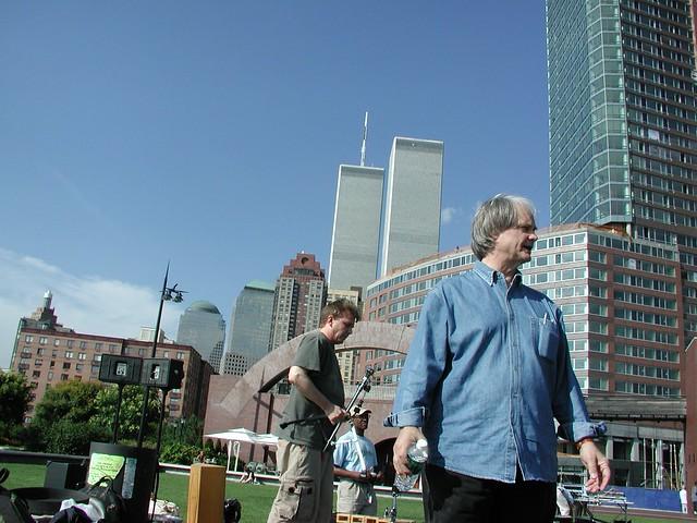 David at Battery Park