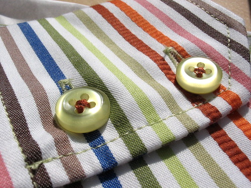 Buttons on my New Shirt
