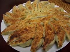 Seafood Jiaozi flied / 海鮮餃子「焼き」