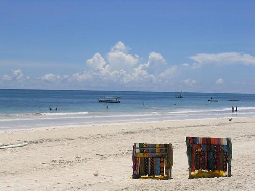 Kenya, a beach