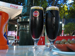 Super Bock on a hot day in Lisbon