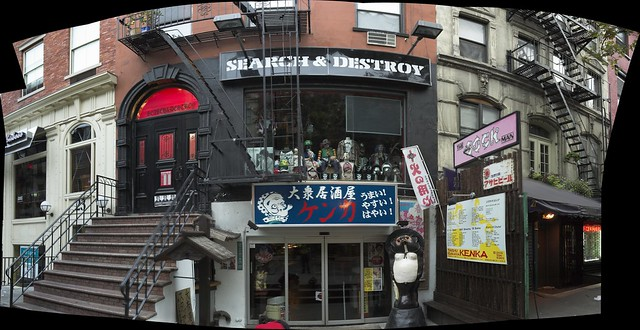 Kenka, Search and Destroy on St. Marks Place NYC