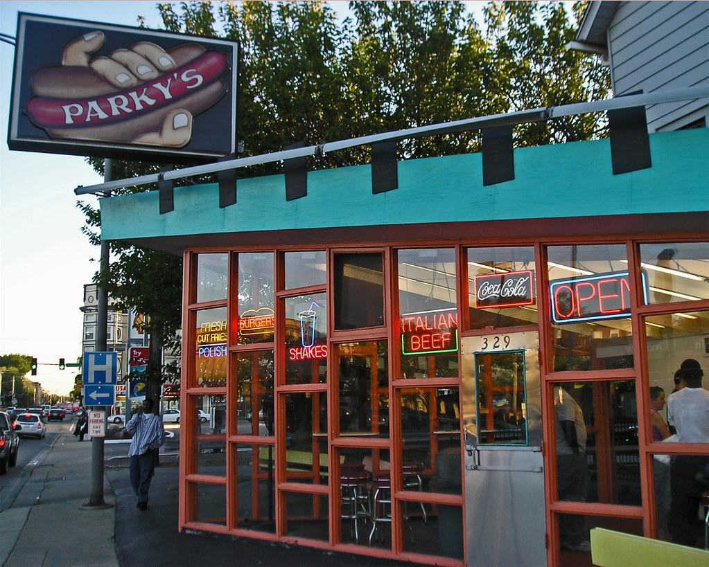 Parky S Hot Dogs Oak Park Il
