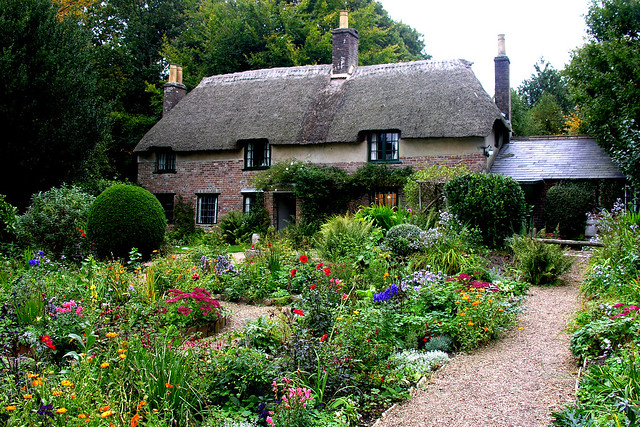 Thomas Hardy's cottage, Dorset, England, 8 October 2005