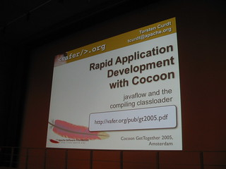Rapid Application Development with Cocoon