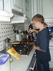 Pfannkuchen vom Kochnachwuchs (1)