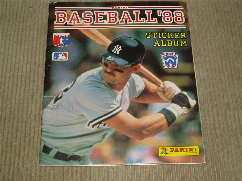 1988 Baseball Sticker Album