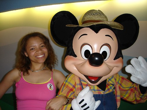 Me and Mickey!