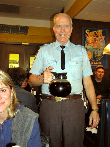 The Coffee-Serving Security Guard