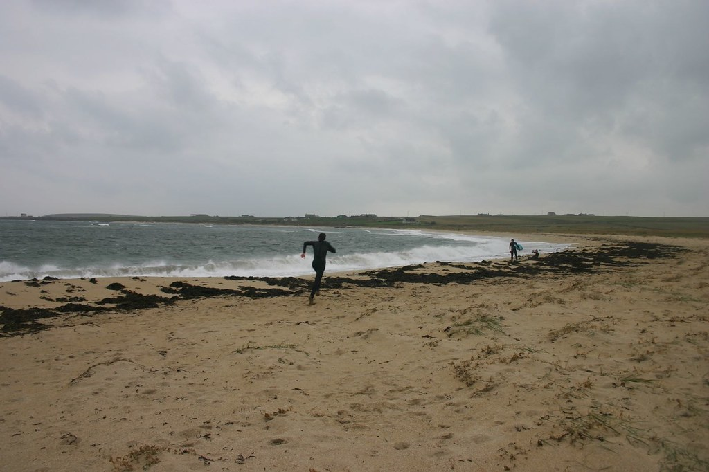 Surfing In The Rain Burray Orkney Hockadilly Flickr