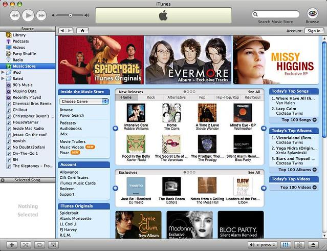 iTunes Music Store Australia