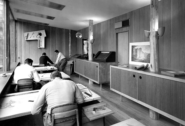 Armstrong Architectural Office -- drafting room