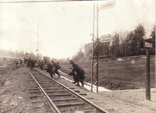 Attack of the German Army in Finland WWI
