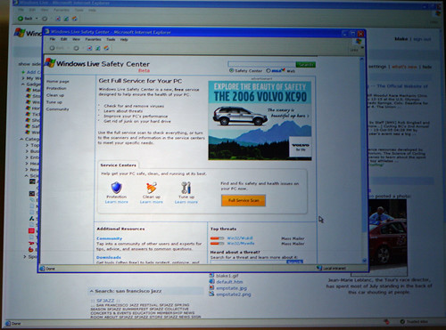 Windows Live Safety Center