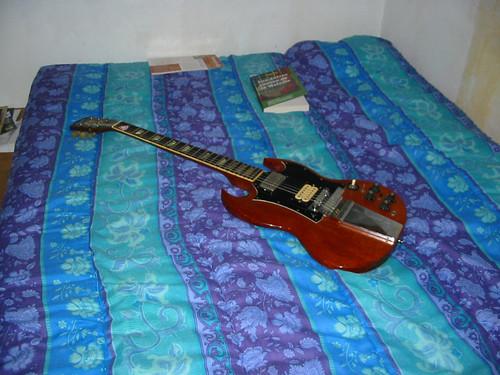 Ma guitare Gibson SG