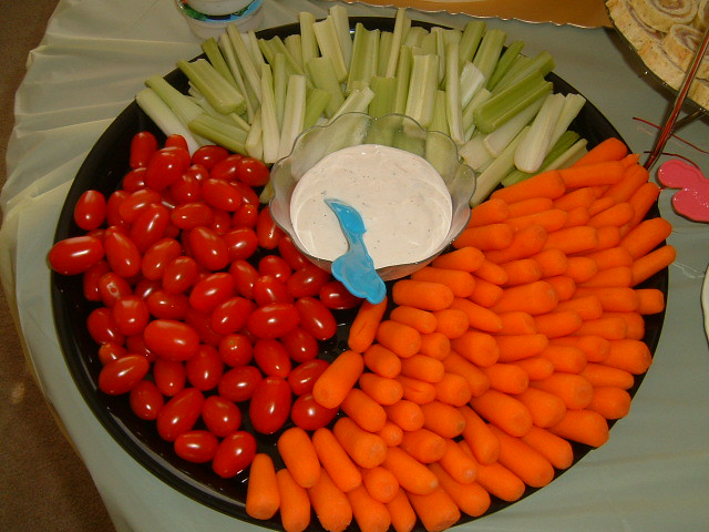 results for baby shower vegetable tray ideas