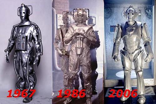 Evolution Of The Cybermen cybermen-evolution | E...