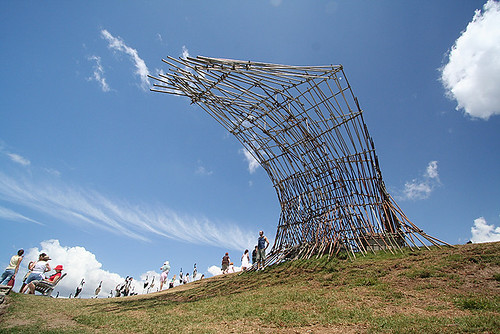 2005 Sculpture by the Sea - structural wave