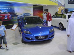 automobile, automotive exterior, exhibition, wheel, vehicle, automotive design, mazda, auto show, bumper, land vehicle, mazda rx-8, sports car,