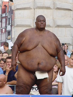 The world's strongest sumo-man - Emanuel Yarbrough