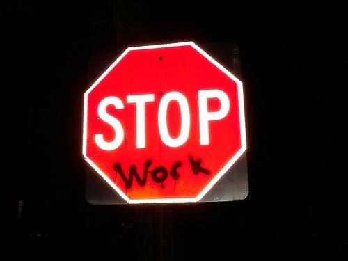 STOP TRABAJO