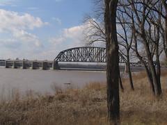 Ohio River, Clarksville, Indiana