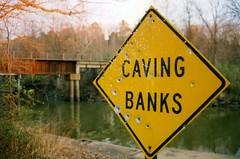 Caving Banks