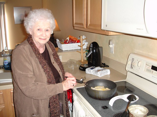Grandma Cooking Pierogies | Grandma Julia Sirak make pierogi ...