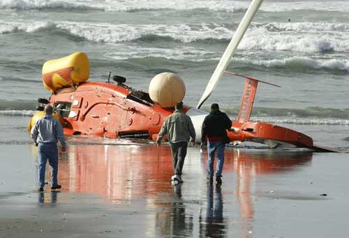two die helicopter crashes into the water in boat rescue